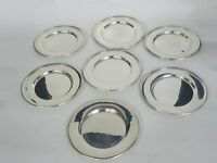 """LOT of  7 pcs WALLACE STERLING 2899 BREAD PLATE ~ 6"""" / 556g"""