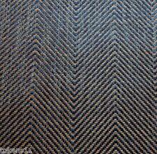 RALPH LAUREN HERRINGBONE UPHOLSTERY FABRIC MALEO WEAVE INDIGO/TEAK 8 YARDS