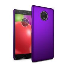 "For Motorola Moto E4 Plus 5.5"" - Slim Hard Case Thin Hybrid Cover & Screen"