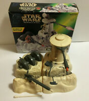 Vintage Star Wars Power of The Force 1997 Hoth Battle Play Set w/ Box Complete