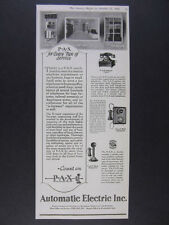 1926 Automatic Electric PAX Business Telephone System vintage print Ad
