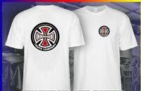 Men's T-shirt Independent Truck Company Iron Cross Skateboard T Shirt Size S-5XL