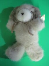 Russ Caress Soft Pet Soft N' Suede Plush Pup Late 1980's CUTE & SOFT!