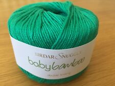 Sirdar Snuggly Baby Bamboo DK 1 X 50 Grms Balls of Wool Shade 102 Apple Bob BN