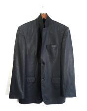 Loro Piana Gauche  Super 150's Gold Series Diamond Frayments Suit Blazer Size 50