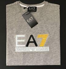 NEW Men's Emporio Armani EA7 Gray T-shirt - Size S