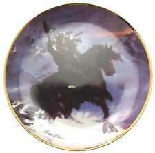 Franklin Mint Spirit of the West Wind collector plate Herman Adams CP743