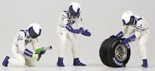 Pit Stop Crew Williams Change Frontal Tyre 1:18 Model MINICHAMPS