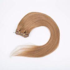 Long Glueless 3/4 Half Wig 100% Remy Human Hair Half Wig Straight Hair Weft Cap