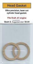 Kraft .61 Cylinder Head Gasket 2 Pack NIP
