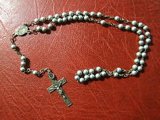 Antique Vintage silver Saint Mary Rosary