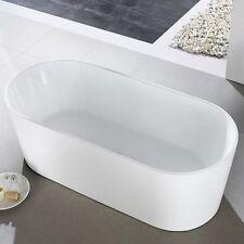 1500 mm Oval Thin Designer Freestanding Bath Tub 1500x750x580mm