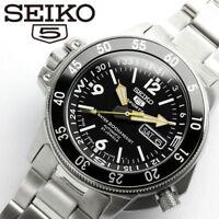 SEIKO 5 SPORTS SKZ211J1 (SKZ211JC) Automatic Day Date DIVER'S 200M JAPAN IMPORT