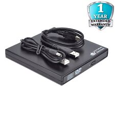 New External USB 2.0 Slim CD RW DVD ROM CD Rewriter DVD Drive For All Laptop, PC