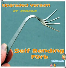 Self Bending Fork - Upgraded Version By 52magic,Mentalism Magic Tricks/Props