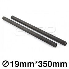 "CGPro 14""/350mm High Strength Carbon Fibre Rods (Pair) for 19mm Support System"