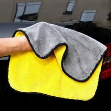 Car Kitchen Super Soft Microfiber Double Face Absorbent Washing Clean Cloth  DE