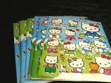 Hello Kitty 25 X A4 hojas de brillante hoja de pegatinas (502) Bolsas De Fiesta Media