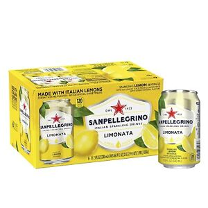 Sanpellegrino Italian Sparkling Drink Limonata 11.15 oz Cans (Pack Of 6)