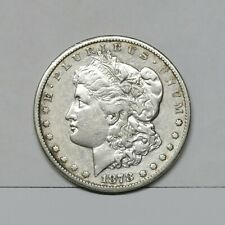 1878-CC $1 Morgan Silver Dollar