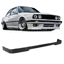 Made for 1984-1992 BMW E30 3-Series 318 325 M-tech IS Front PU Bumper Add-on Lip