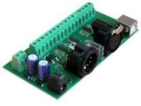 DMX 8-Kanal Analog Output Modul RX-A8 Ausgangsmodul für DMX, USB