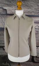 UNITED COLORS OF BENETTON Damen Gr. 42 Sweat Jacke Vintage Blazer Wollweiß #147