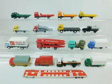 bn199-1 #16x H0 / 1:87 camiones MB + RENAULT + MAN + IVECO etc. ( EKO ,VEB / RDA
