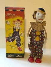 Vintage Schuco Clown Wind Up Tin Toy Extremely Rare