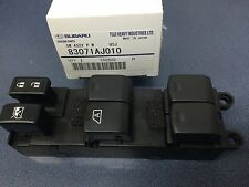 Genuine OEM Subaru Outback LH Drivers Door Power Master Window Switch 83071AJ010