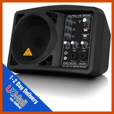 Behringer B205D Eurolive 150W Active Powered Portable Monitor PA Speaker System