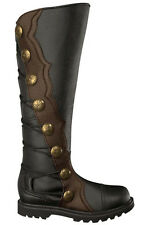 Black With brown Trim Renaissance/Medieval boots