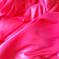 "NEON HOT PINK TWO TONE TAFFETA Fabric Polyester Faux Shot Silk 58"" By The Yard"