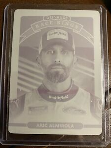 Aric Almirola 1/1 Printing Plate! Race Kings!