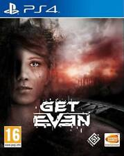 Get Even PS4 * NEW SEALED PAL *