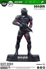 Mcfarlane Toys Mass Effect Scott Ryder Color Prendas para el torso figura #21 pedido previo