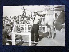 OLD REAL PHOTO-PC~SCHEVENINGEN~POLITIE~REDDINGSBRIGADE~BEACH POLICE~ANIM~ca 1960