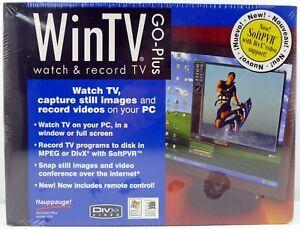WinTV GO-Plus Watch & Record TV Model 1033