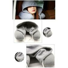 Body Neck Pillow Solid Cotton Particle Pillow Soft Hooded U-pillow Pillow Travel