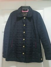 Authentic Ladies Black Coach Jacket size XS NWT $328.00