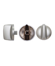 GENUINE FISHER & PAYKEL COOKTOP KNOB ASSY SATIN CHROME  531392