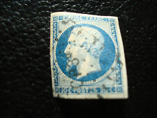 FRANCE - timbre yvert et tellier n° 14Aa obl (A11) stamp french