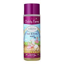 Childs Granja Hair & Body Wash Blackberry & orgánica 250 Ml de Apple