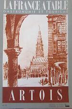 Gastronomia Turismo Folklore Rivista la Francia Tavolo di 1951 N°30 Artois