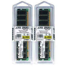 1GB KIT 2 x 512MB Dell PowerEdge 2300 500MHz 550MHz 600MHz 700MHz Ram Memory