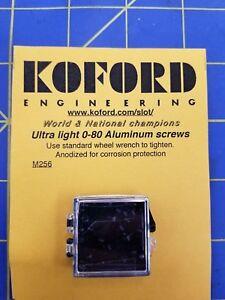 KOFORD #256 Ultra Light 0 - 80 Aluminum Screws  Mid-America Naperville