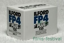 5 rolls ILFORD FP4 Plus 125 35mm Black & White Film 135-36 FREE SHIP