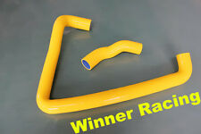reinforced silicone coolant hose FOR Nissan Z32 300ZX 1990-1999 YELLOW 2 pieces