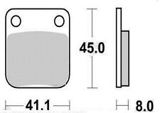 Jeu 2 plaquettes frein Arrière KAWASAKI KLX 125 D-TRACKER SUPERMOTARD 2010 -2013