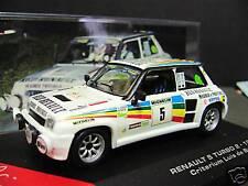 RENAULT 5 Turbo Rallye 1984 Crit Baviera #5 Sainz IXO Altaya 1:43